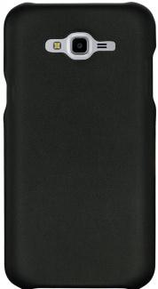 Чехол-накладка G-Case Slim Premium для Samsung Galaxy J7 Neo SM-J701F, Искусственная кожа, Black, Черный, GG-927