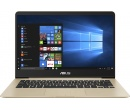 ASUS Zenbook UX430UA i5-8250U 8Gb SSD 256Gb Intel UHD Graphics 620 14 FHD IPS BT Cam 3700мАч Win10Pro Золотистый UX430UA-GV261R 90NB0EC6-M12290