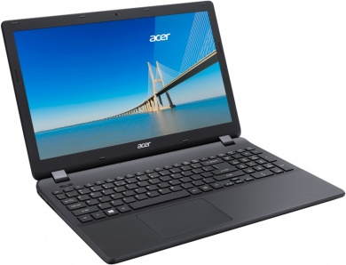 Acer Extensa EX2519 PQC N3710 4Gb SSD 128Gb Intel HD Graphics 405 15,6 HD DVD(DL) BT Cam 3500мАч Linux Черный EX2519-P5WK NX.EFAER.089