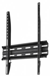 """Кронштейн Hama H-118104 32""""-65"""" макс.35кг, VESA: 75x75, 100x100, 200x200, 300x300, 400x400, настенный фиксированный. Черный"""