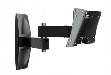"Кронштейн Holder LCDS-5064 12""-32"" макс.30кг, VESA: 75x75, 100x100, 200x200, настенный поворот и наклон. Черный"