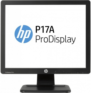 "Монитор 17"" HP ProDisplay P17a, SXGA, TN, VGA, Черный F4M97AA"