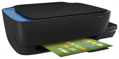МФУ струйное цветное HP Ink Tank 319, A4, 19/15стр/мин, USB, СНПЧ, Черный Z6Z13A