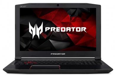 Acer Predator Helios 300 G3-572  i5-7300HQ 8Gb 1Tb + SSD 128Gb nV GTX1060 6Gb 15,6 FHD IPS BT Cam 3220мАч Linux Черный G3-572-58YT NH.Q2BER.014