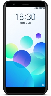Смартфон Meizu M8с 16Gb DS 5.45(1440x720)IPS LTE Cam(13/5) MSM8917 1,4ГГц(4) (2/16)Гб microSD 128Гб A7.0 3070мАч Черный M810H-16-BK