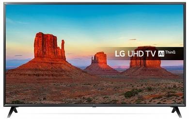 Телевизор LG 49 LED, UHD, IPS, Smart TV (webOS), Звук (20 Вт (2x10 Вт)) , 3xHDMI, 2xUSB, 1xRJ-45, Черный 49UK6300PLB