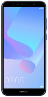 Смартфон Huawei Y6 Prime 2018 DS 5,7(1440х720)IPS LTE Cam(13/5) MSM8917 1.4ГГц(4) (2/16)Гб microSD до 256Гб A8.0 3000мАч Синий 51092KQE