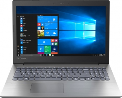 Lenovo IdeaPad 330-15 PQC N5000 4Gb 500Gb Intel UHD Graphics 605 15,6 FHD BT Cam 3900мАч Free DOS Серый 81D1003PRU