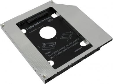 "Переходник Optibay Espada SS95 для установки в ноутбук/моноблок HDD/SSD 2.5"" вместо DVD-привода (9,5mm) SS95"