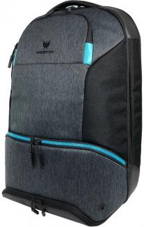 """Рюкзак 15,6"""" Acer Predator Hybrid Backpack, Полиэстер, Черный/Синий NP.BAG1A.291"""