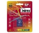 Карта памяти SDXC 64Gb Class10 Mirex 00000685