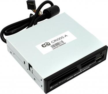 "Картридер внутренний 3.5"" 3Q (CRI005-A) +1xUSB 00030592"