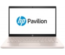 HP Pavilion 14 i5-8250U 4Gb 1Tb + SSD 16Gb nV MX130 2Gb 14 FHD IPS BT Cam 3630мАч Win10 Белый/Бледно-розовый 14-ce0011ur 4HC10EA