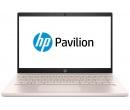 HP Pavilion 14 i3-8130U 4Gb 1Tb + SSD 16Gb Intel UHD Graphics 620 14 FHD IPS BT Cam 3630мАч Win10 Белый/Бледно-розовый 14-ce0005ur 4GY05EA