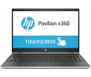 HP Pavilion x360 15 i3-8130U 4Gb 1Tb + SSD 16Gb Intel UHD Graphics 620 15,6 FHD IPS TouchScreen BT 4400мАч Win10 Серебристый 15-cr0003ur 4GY81EA
