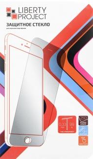 Защитное стекло Liberty Project для смартфона Samsung Galaxy A8 2018 SM-A530F, Прозрачное (Черная рамка)  0L-00036740