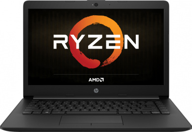 HP 14 Ryzen 5 2500U 8Gb 1Tb + SSD 128Gb AMD Radeon Vega 8 14 HD BT Cam 2670мАч Win10 Черный 14-cm0013ur 4JV92EA