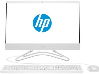AIO HP 22  i3-8130U 4Gb 1Tb + SSD 16Gb Intel UHD Graphics 620 21,5 FHD IPS  Cam Win10 Белый 22-c0024ur 4GU89EA