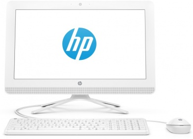 AIO HP 20 i3-7130U 4Gb 1Tb Intel HD Graphics 620 DVD(DL) 19,5 FHD BT Cam Win10 Белый 20-c405ur 4HE97EA