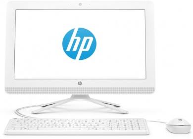 AIO HP 20 i3-7130U 8Gb 1Tb Intel HD Graphics 620 DVD(DL) 19,5 FHD BT Cam Free DOS Белый 20-c402ur 4HA14EA
