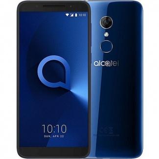 Смартфон Alcatel 3 5052D DS 5.5(1440x720)IPS LTE Cam(13/5) MT6739 1,3ГГц(4) (2/16)Гб microSD 128Гб A8.0 3000мАч Синий 5052D-2BALRU7