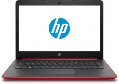 HP 14 Ryzen 5 2500U 8Gb 1Tb + SSD 128Gb AMD Radeon Vega 8 14 HD BT Cam 2670мАч Win10 Красный 14-cm0017ur 4KH06EA