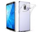 Чехол-накладка skinBOX slim silicone для Samsung Galaxy A6+ 2018, Силикон, Clear, Прозрачный, T-S-SGA6+2018-006 4660041404906