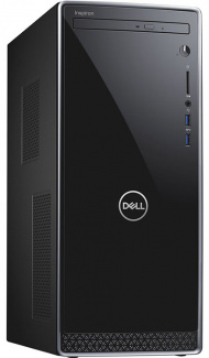 Dell Inspiron 3670 MT i7-8700 8Gb 1Tb + SSD 128Gb nV GTX1050Ti 4Gb DVD(DL) BT Wi-Fi Win10 Черный 3670-6610