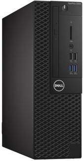 Dell Optiplex 3060 SFF i3-8100 4Gb 500Gb Intel UHD Graphics 630 Win10Pro Черный 3060-7519