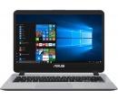 ASUS X407UA i3-7100U 8Gb SSD 256Gb Intel HD Graphics 620 14 FHD BT Cam 3650мАч Win10 Cерый X407UA-EB205T 90NB0HP1-M04400