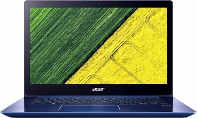 Acer Swift SF314-54 i3-8130U 4Gb SSD 256Gb Intel UHD Graphics 620 14 FHD IPS BT Cam 3220мАч Win10 Синий SF314-54-35YY NX.GYGER.007