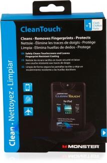 Чистящий набор Monster CleanTouch for Touchscreen Tablets, eBooks and Smartphones 20мл, Черный 133212-00