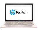 HP Pavilion 14 i3-8130U 4Gb SSD 256Gb Intel UHD Graphics 620 14 FHD IPS BT Cam 3630мАч Win10 Белый/Бледно-розовый 14-ce0037ur 4MG25EA