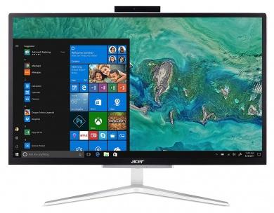 AIO Acer Aspire C22-820 PQC J5005 4Gb 1Tb Intel UHD Graphics 605 21,5 FHD VA BT Cam Endless OS Серебристый DQ.BCMER.001