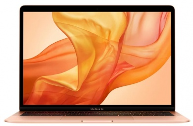 Apple MacBook Air 2018 MREF2RU/A i5-8210Y 8Gb SSD 256Gb UHD Graphics 617 13,3 WQXGA IPS BT Cam 4379мАч Mac OS X 10.14.1 (Mojave) Gold Золотистый