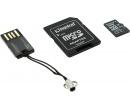Карта памяти Kingston microSDHC 32Gb +  (Class 10 microSD + SD adapter + USB reader) MBLY10G2/32GB