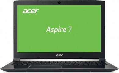 Acer Aspire A717-71G i7-7700HQ 8Gb + SSD 128Gb 1Tb nV GTX1060 6Gb 17,3 FHD BT Cam 3220мАч Win10 Черный A717-71G-7167 NH.GPFER.007