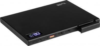 Универсальный внешний аккумулятор TopON TOP-MAX2 для смартфонов, планшетов, цифровой техники на 30000mAh (111 Wh) Черный
