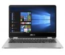 ASUS VivoBook Flip TP401MA PQC N5000 4Gb SSD 128Gb UHD Graphics 605 14 FHD IPS TS BT 3830мАч Win10 Светло-серый TP401MA-EC011T 90NB0IV1-M02130