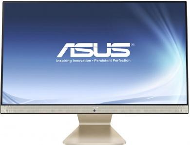 AIO ASUS Vivo AiO V241IC PDC 4405U 4Gb 500Gb Intel HD Graphics 510 23.8 FHD BT Cam Win10 Черный/Золотистый V241ICUK-BA364T 90PT01W1-M17670