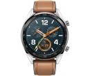 Смарт-часы Huawei Watch GT Classic Brown Hybrid Strap, Bluetooth, 420 мАч Коричневый/Серый 55023210