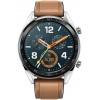 Смарт-часы Huawei Watch GT Brown Hybrid Strap, Bluetooth, 420 мАч Коричневый/Серый 55023210