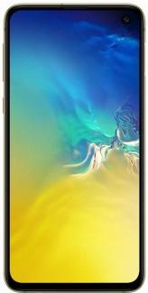 Смартфон Samsung Galaxy S10E SM-G970F 5,8 DS (2280х1080) LTE Cam (16+12/10) Exynos 9820 2,7ГГц(8) (6/128)Гб A9.0 3100мАч Цитрус SM-G970FZYDSER
