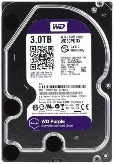 "Жесткий диск 3.5"" 3Tb WD Purple (WD30PURZ-85GU6Y0) SATA III (64Mb, 5400rpm) WD30PURZ"