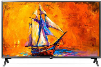 Телевизор LG 49 LED, FHD, Smart TV (webOS) Звук (10 Вт (2x5 Вт)), 2xHDMI, 1xUSB, 1xRJ45, PMI 100, Черный, 49LK5400PLA