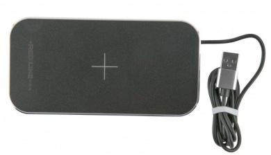Беспроводное зарядное устройство Red Line Qi-05, до 5В/2А Черный УТ000015556