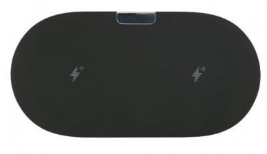 Беспроводное зарядное устройство Red Line Qi-06, 5В/2А или 9В/2А, Черный УТ000015895