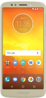 Смартфон Motorola Moto E5 Plus XT1924-1 6,0(1440x720)IPS LTE Cam(12/8) MSM8917 1.4ГГц(4) (3/32)Гб microSD 256Гб A8.0 5000мАч Золотистый PABA0021RU