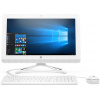 AIO HP 20 i3-7130U 4Gb 1Tb Intel HD Graphics 620 19,5 FHD SVA BT Cam Win10 Белый 20-c421ur 6PB25EA