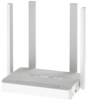 Маршрутизатор Keenetic Viva 10/100/1000BASE-TX,, 1xWAN, 4xLAN, 802.11ac до 867Мбит/с, 2xUSB, Белый